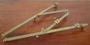 19th C. Stanley London Brass PantographCharting Tool
