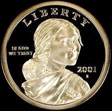 2001 S $1 Sacagawea Native American - Proof