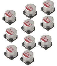 Nichicon Aluminum Organic Polymer Capacitors 4V 100uF 105C (10 pieces)