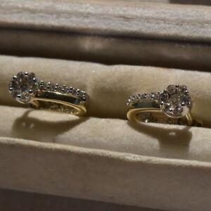 Brillantohrringe GG 585, Diamanten 0,49 Karat NP 900 €
