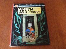 Tintin - Vol 714 pour Sydney. 1968 EO 1er tirage