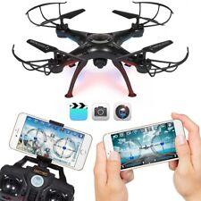 Rc Quadcopter For Kids Boys Drone WiFi Camera Toys Black Versatile Children New