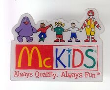RARE PINS PIN'S .. MC DONALD'S RESTAURANT USA RONALD GRIMACE KIDS ENFANT JEU ~17