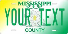 Mississippi 1998 License Plate Tag Personalized Auto Car Custom VEHICLE OR MOPED