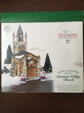 Dept 56 Dickens Village Somerset Valley Church Set (Retired 2001)