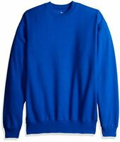 Men's Ecosmart Fleece Sweatshirt, Deep Royal,, Deep Royal, Size Medium Zk4e