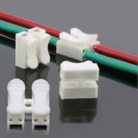 10//20pcs High-Quality Terminal Block Spring Connector Quick Cable Clamp Wire New