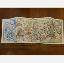 Universal Studios Orlando Uoap Wizarding World of Harry Potter Map November