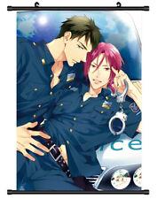4596 póster de desplazamiento de Pared Decoración Matsuoka Rin Cosplay