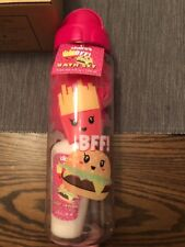 NEW Claire's BFF Girls Bath Set Pink Tumbler Shower Gel, Lotion, & Loofa NWT