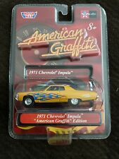 Rare 1971 Chevrolet Impala American Graffiti Edition Car 1/64 by Motor Max