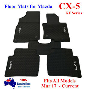 Waterproof Rubber Floor Mats Tailor Made For Mazda CX5 CX-5 KF Series 2018 2021