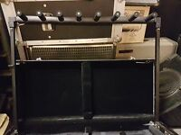 TRAVEL GUITAR STAND / CASE for 7 GUITARS / BASSES