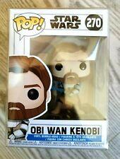 Obi Wan Kinobi Star Wars Funko POP Vinyl #470 Ewan McGregor NEW MINT + protector
