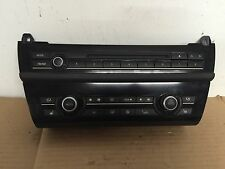 BMW OEM F10 535 550 M5 2011-14  NAVIGATION CD RADIO AC CLIMATE CONTROL SWITCH