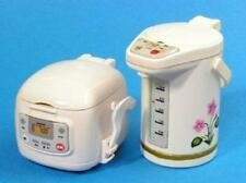Re-Ment miniature appliance rice cooker and electric pot flower pink