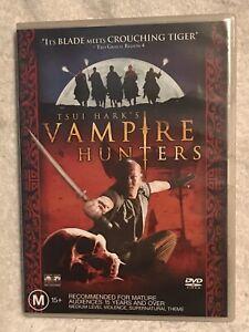 Tsui Hark's Vampire Hunters Region 4 DVD