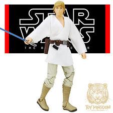 "LUKE SKYWALKER (NEW HOPE) - Star Wars Black Series 6"" The Force Awakens TFA W6"