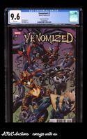 Marvel - Venomized #1 (Bagley Connecting Variant) - CGC Graded NM+ 9.6