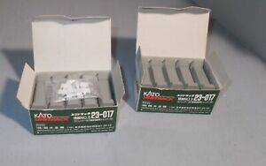 N SCALE TRAIN LOT  2 NICE KATO 23-017 PIER SETS ONE BOX WHITE THINGS  ATTACHED