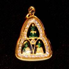 Thai Amulet Phra Kaew Morakot Emerald Buddha 3 Seasons Jewelry Pendant DBA