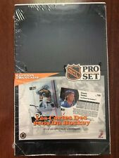 1991-92 PRO SET HOCKEY - SERIES 1 HOBBY BOX (36) NHL TRADING CARD PACKS *FRENCH