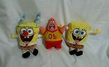 "Ty Original Beanie Babies SpongeBob (Lot 3)SpongeBob 6"""