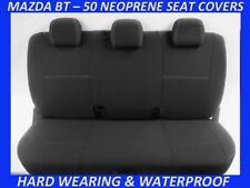 Fits Mazda Bt-50 Mk1 up Front Neoprene Seat Covers Full Coverage Map Pocket X 4