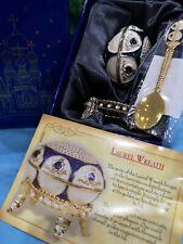 "Vintage Atlas Editions Faberge Egg ""Laurel Wreath"" Inc Spoon & Certificate"