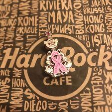 Hard Rock Cafe HRC BERLIN PINKTOBER 2020 3D GUITAR BREAST CANCER AWARENESS Pin