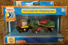 Salty and the Shipping Cars Thomas & Friends Wooden Railway Target Exclusive NIB