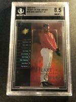 KEN GRIFFEY JR. 2000 UPPER DECK SPX #H6 HEART OF THE ORDERS INSERT CARD BGS 8.5