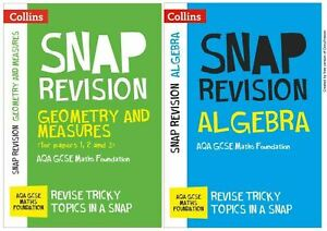 GCSE AQA MATHS FOUNDATION REVISION NOTES GEOMETRY ALGEBRA TARGETED LEARNING