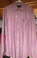 Armani Jeans Mens Button-Down Armani Dress Shirt Large