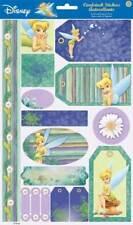 Disney TINKER BELL Cardstock Scrapbook Stickers