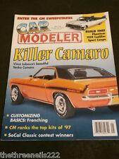 CAR MODELER - KILLER CAMARO - MAY 1998