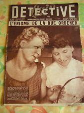 Détective 1955 ANGERVILLE ARGENTON CHÂTEAU CAUDRY LODèV