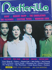 ROCKERILLA 122 1990 Pixies Mirò Robert Fripp Warrior Soul Paul Chain Jazz Butche