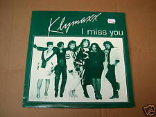 KLYMAXX  - I MISS YOU - 12 INCH - MAXI - SOLAR 1984