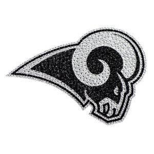 Los Angeles Rams Licensed Sparkle Bling Emblem Decal