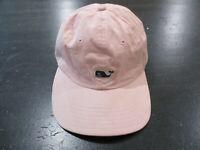 Vineyard Vines Strap Back Hat Cap Pink Blue Whale Adjustable Preppy Mens *