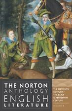 """FAIR COND"" Norton Anthology of English Literature 9TH EDITION VOLUME B (2012)"