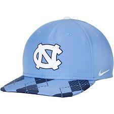 071f2915633 Nike North Carolina UNC Tar HEELS Adult Blue Argyle Snapback Dri Fit Hat