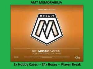 Dylan Carlson St. Louis Cardinals 2021 Panini Mosaic 2X Case 24X BOX BREAK #2