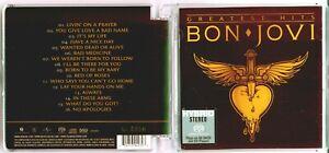 SACD-Bon Jovi- Greatest Hits (SACD) (日本壓碟) NEU!!!Ohne Folie!!!EditionNr:0096