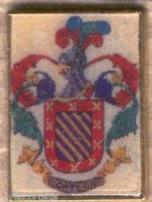 Heraldry PIN metallic del last name : ORTEGA