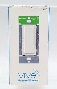 Lutron: Vive Maestro Wireless RF Dimmer (MRF2S-6ELV120-WH)