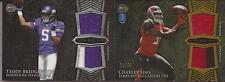 2014 BOWMAN STERLING TEDDY BRIDGEWATER ROOKIE DUAL/RELIC CARD BSRDR-TB