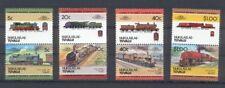Nukulaelae - Tuvalu Satz 2 Train / Eisenbahn / Loco 100 Leaders of the World **