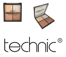 Technic Mega Glow Highlighter Quad Palette - Four Golden Baked Shades